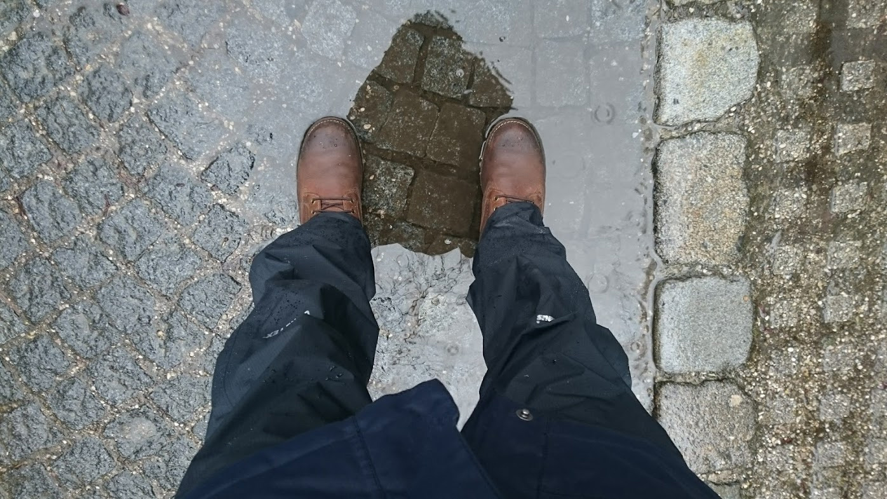Berghaus Regenhose Paclite Pants Test