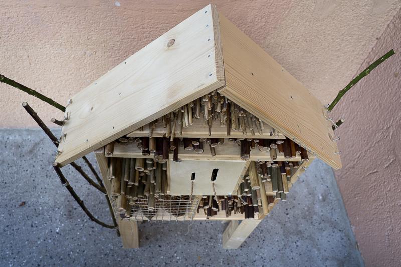 insektenhotel bauen insektenhotel bausatz mit. Black Bedroom Furniture Sets. Home Design Ideas